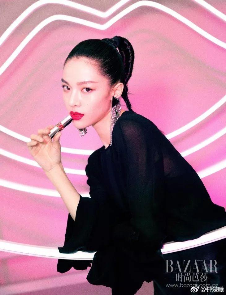 妆容欧美风or日韩风都不重要,唯独宠爱钟楚曦辛芷蕾的高级感画风!