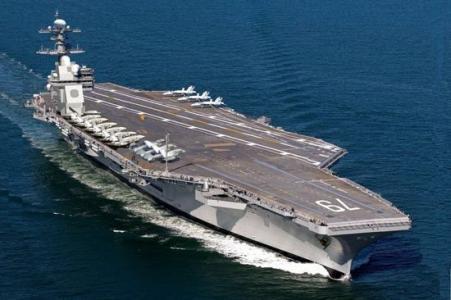美福特号航母无法完成最简单任务 再次延期