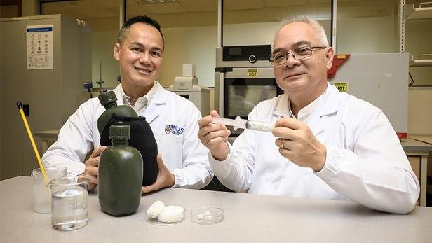 科学家用棉布肥料造出环保气凝胶:成本更低