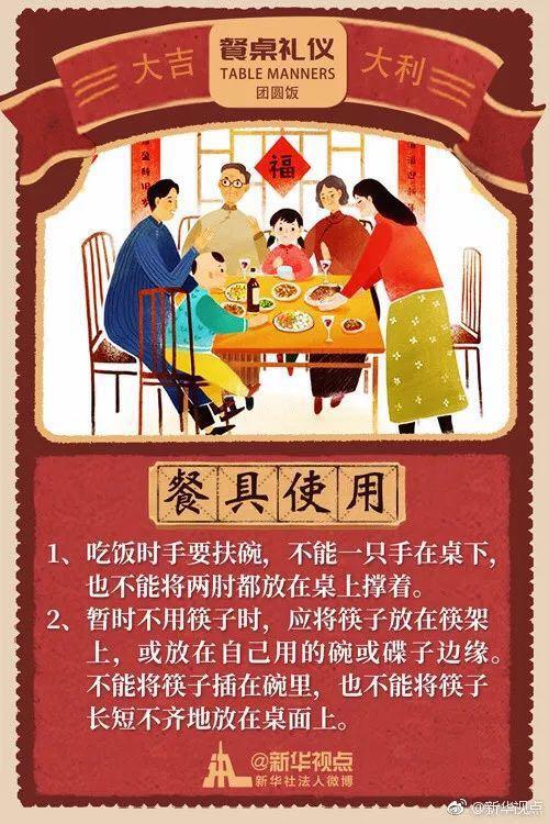 澳门金沙娱乐官网网址:春节重温餐桌上的礼仪:座次布菜敬酒添茶都有讲究