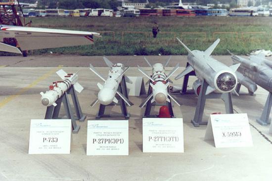 俄制导弹颠覆美制战机神话:俄空空导弹如何逆袭?