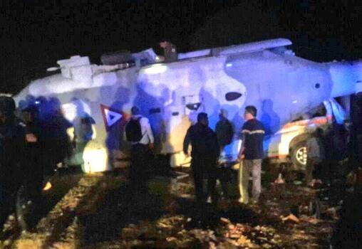 载墨西哥部长及州长直升机坠毁 两官员幸免于难