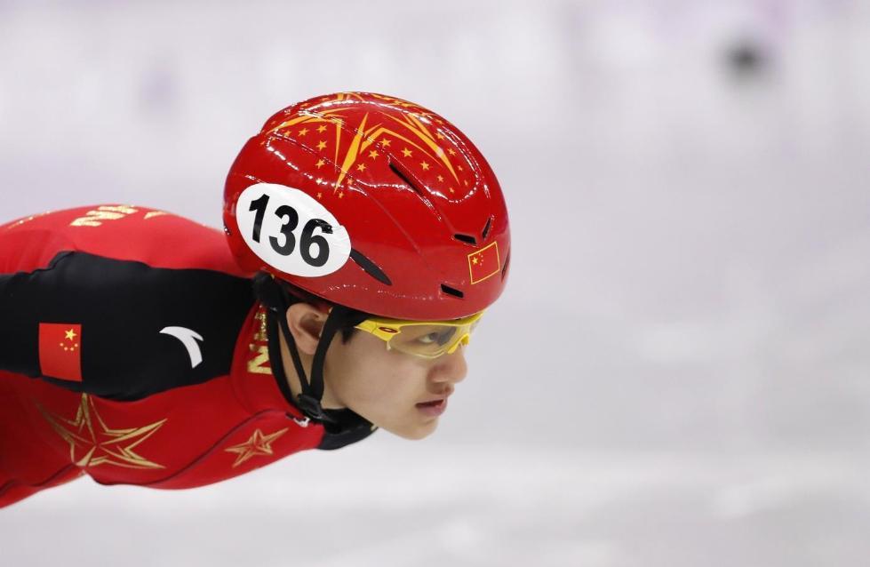 女子短道速滑1500米 中国17岁姑娘李靳宇摘银牌