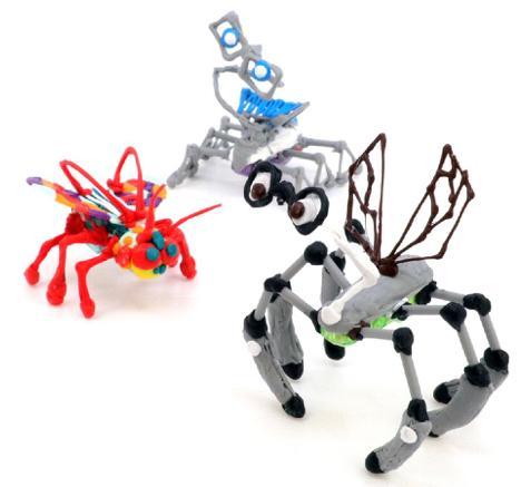 3Doodler新套件让儿童自己打印动物部位进行组装