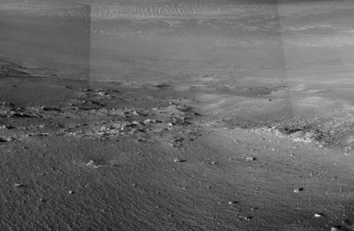 美国宇航局机遇号发现火星上存在水的新证据