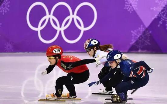 """集体""""被黑""""后 中国短道速滑队终于在韩拿到银牌"""