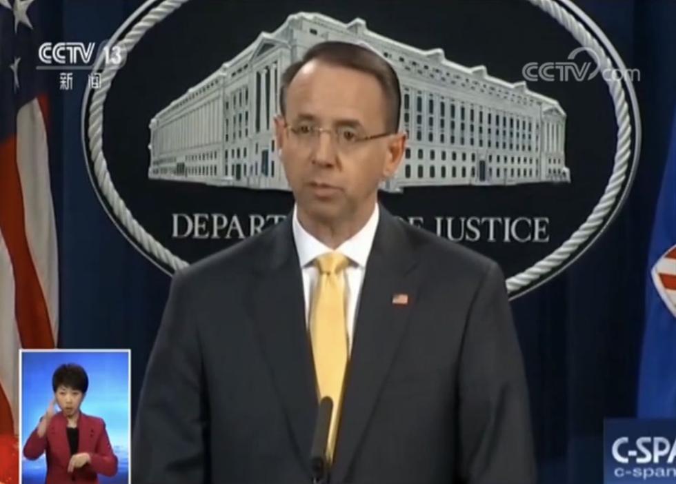 """美国起诉13名俄罗斯公民及三家机构,原因是用了""""马甲""""……"""