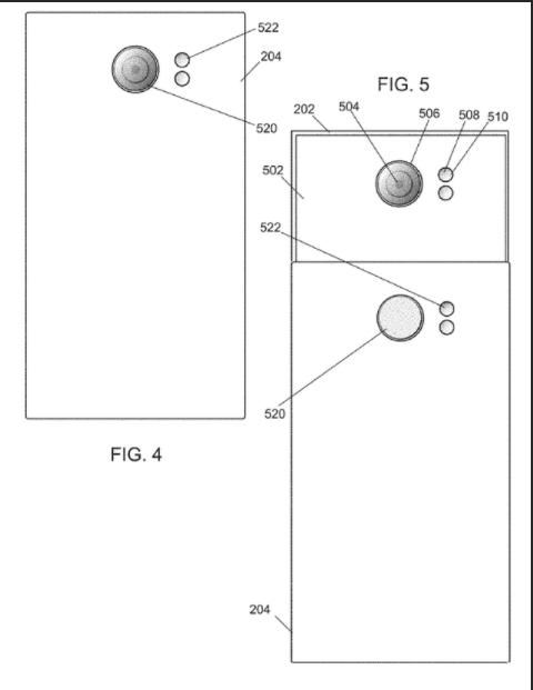 滑盖专用 黑莓摄像头新专利曝光