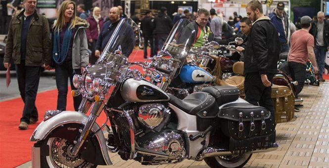 2018年多伦多摩托车展举行