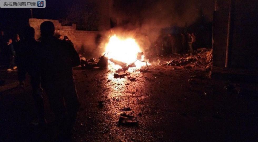 叙利亚东北城市遭恐袭 至少5人死亡7人受伤