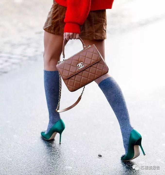 据说这三双漂亮袜子,今年春天有新穿法