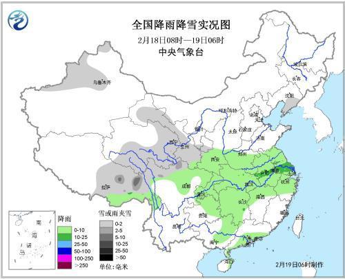 西藏新疆等地降雪 今晨河北山西河南等地有霾