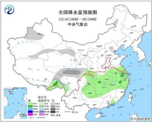 未来三天南方地区多阴雨天气 华北黄淮等地有霾