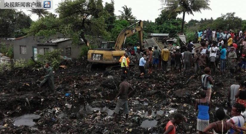莫桑比克首都垃圾山因大雨坍塌 致17人死亡