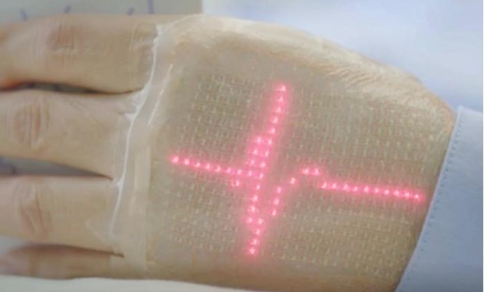 """电子""""智能皮肤""""正在研发中 可用于体育和医学"""