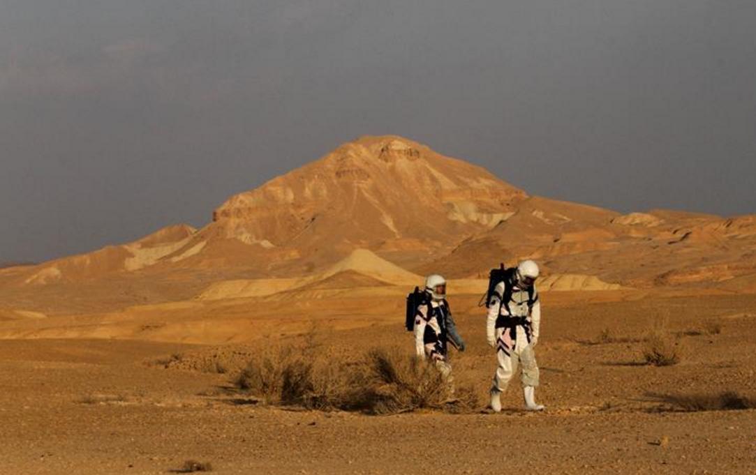 """探秘以色列""""火星沙漠研究站"""""""
