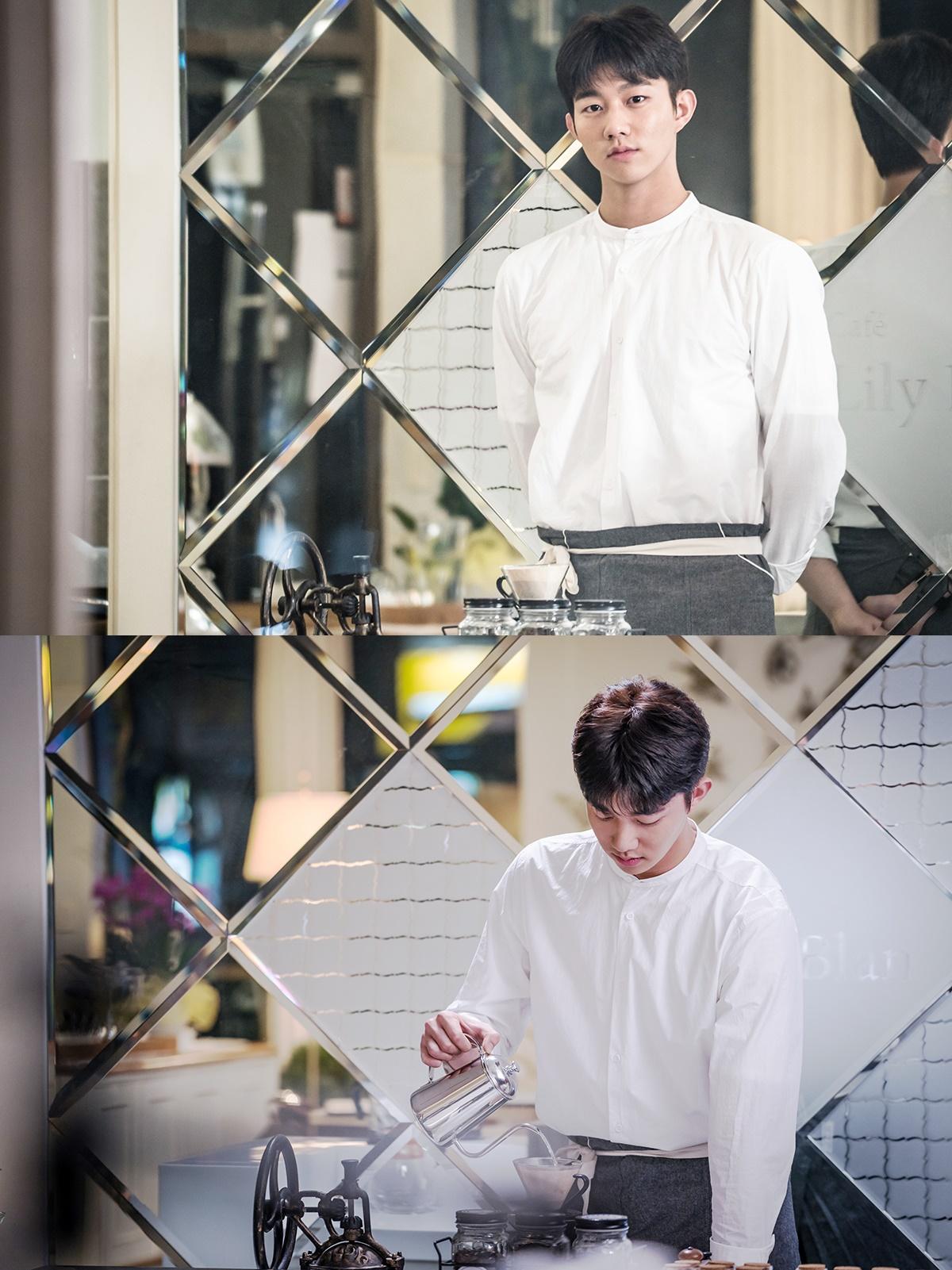 新星KI DO HUN出演电视剧《要先接吻吗》 预告获认可