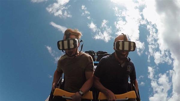 世界最长VR过山车体验:升级版的高空刺激体验你敢试试吗?