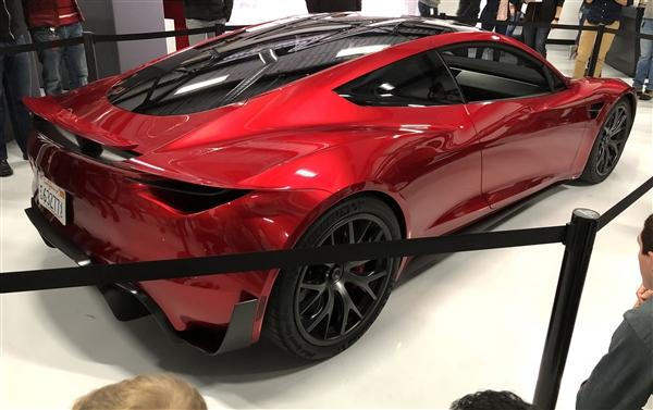 特斯拉史上最快车型!新一代超跑Roadster 2正式亮相