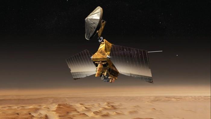 NASA火星勘测轨道飞行器的新问题令科学家烦恼