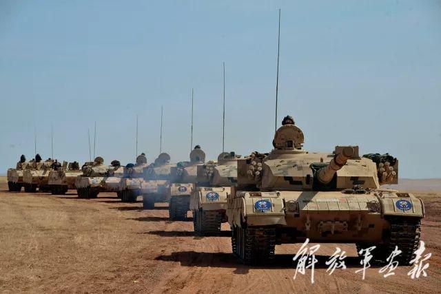 中国第一蓝军旅演习中曾获6胜1负 引发全军震动