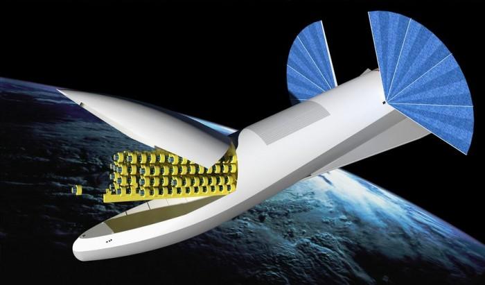 SpaceX的全球卫星网络:低空轨道部署4425颗卫星