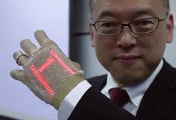 日本研发电子皮肤贴片:可做健康监测系统