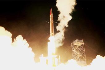 以色列测试最强反导系统 大气层外拦截确实厉害