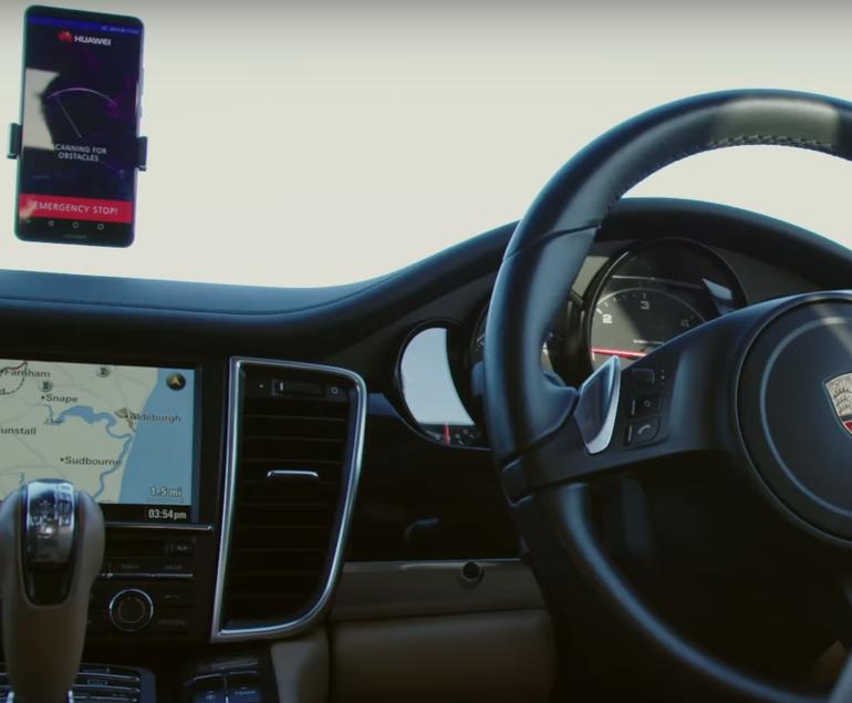 厉害!华为宣布用Mate 10 Pro控制自动驾驶汽车