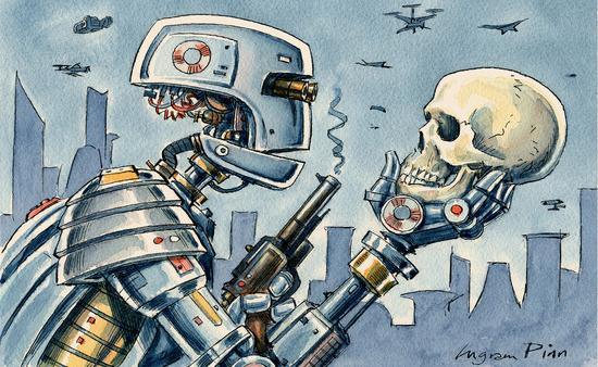 将AI用于武器研发?德国承诺不使用机器人杀手