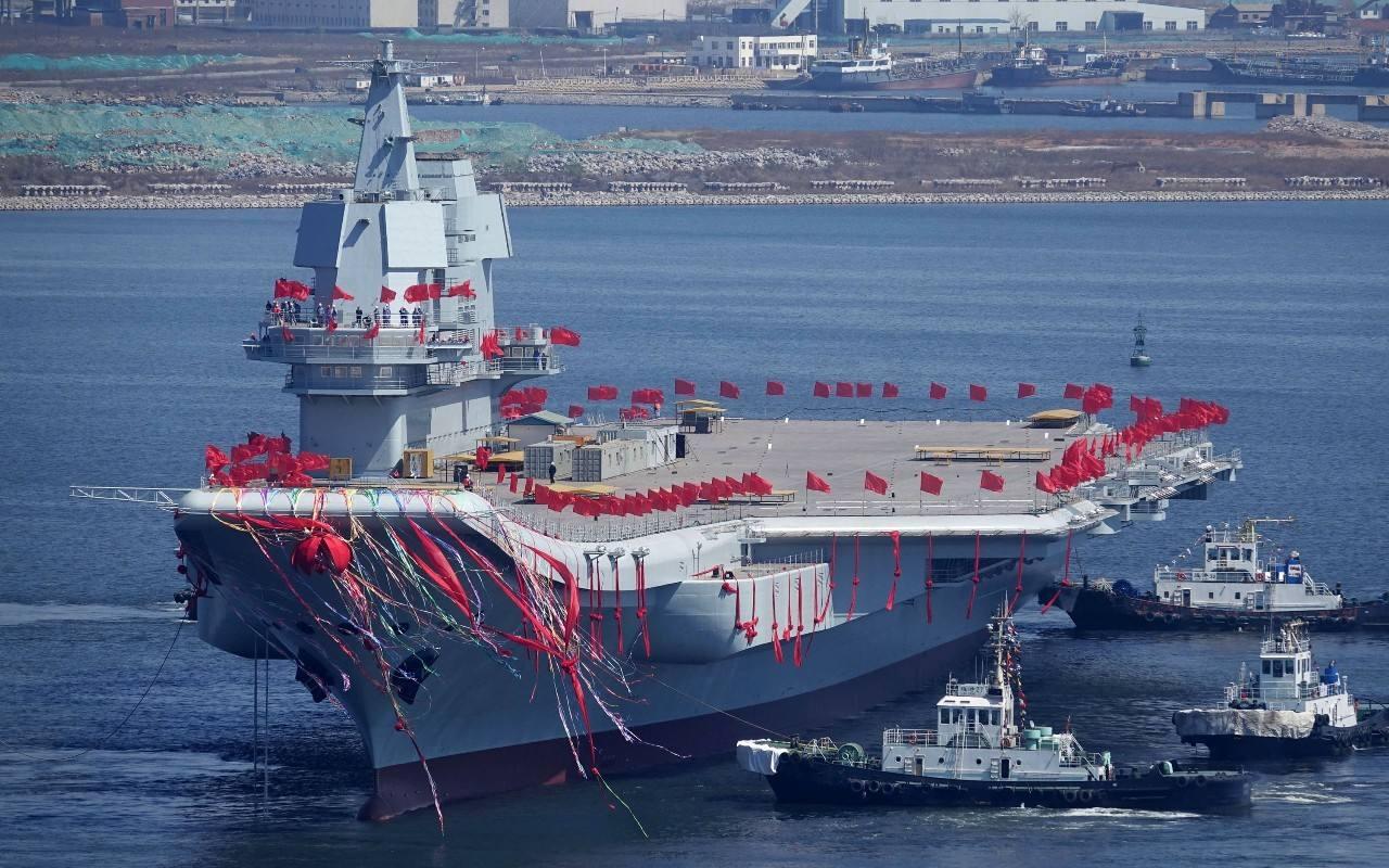 智库:中国4年间新建军舰吨位接近英国海军