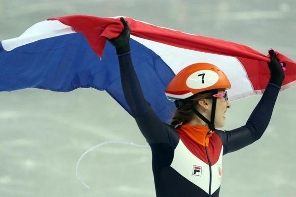 平昌冬奥会短道速滑女子1000米荷兰选手获金牌