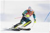 瑞典名将米勒尔获高山滑雪男子回转金牌
