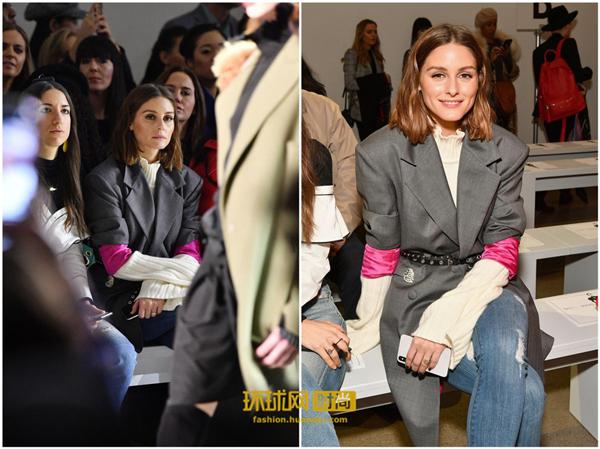 Olivia Palermo为什么把西装的袖子挽起来