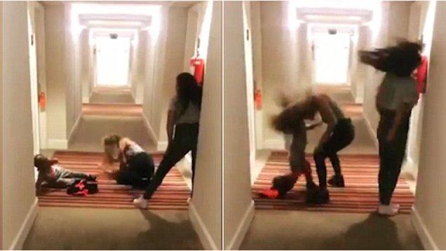 """阿根廷女星与三岁儿子共舞上演""""头碰头"""""""
