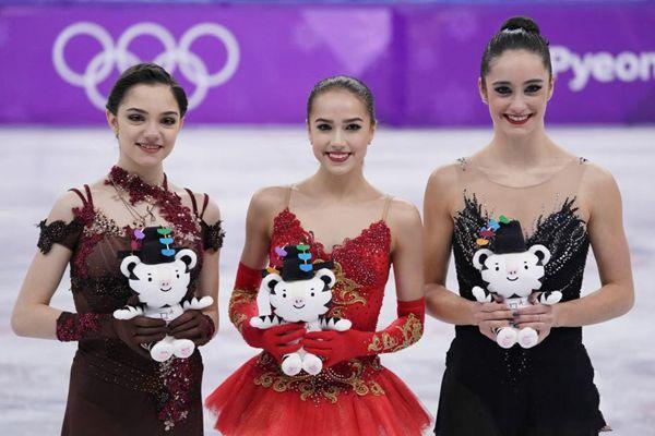俄罗斯奥运选手揽花滑女单金银牌