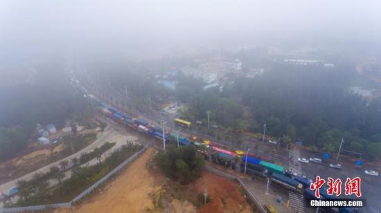 大雾黄色预警发布:浙江江西等局地能见度低于200米