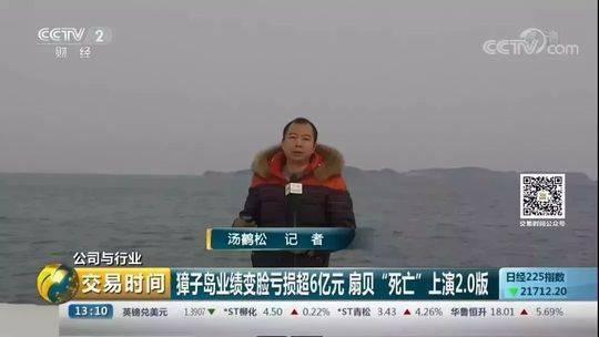 央视记者深入獐子岛发现蹊跷 扇贝死了天灾or命案