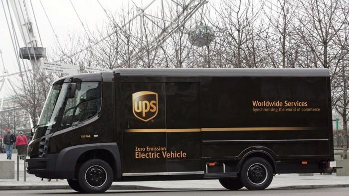 UPS计划部署50辆50辆新型插电式混合动力送货卡车