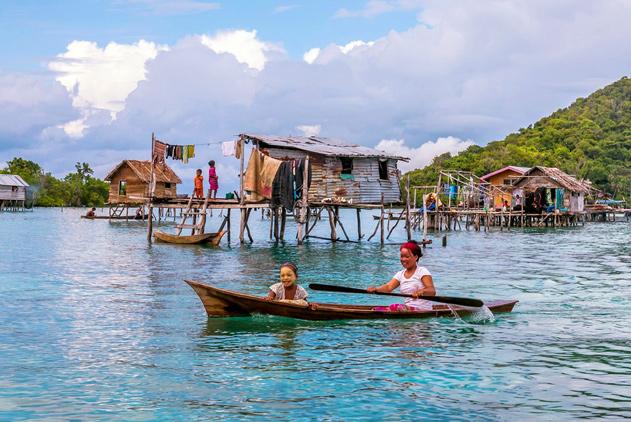 海上游牧者:东南亚巴瑶族人一生生活在海上