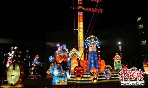 中國彩燈點亮「歐洲心臟」 迎中歐旅遊年