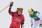 自由式女子障碍追逐决赛 加拿大选手夺冠