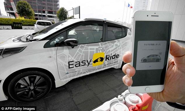日产将推无人驾驶出租车服务 向优步发起挑战