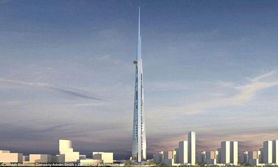 有钱任性!沙特首富20亿美元打造世界第一高楼(图)