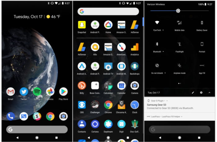 Android P有望在设置中加入Dark Mode开关