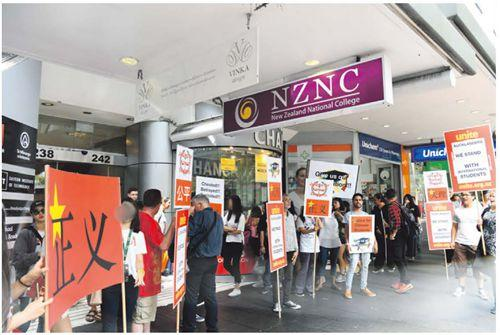 媒体:中领馆介入奥克兰私校关门案 将分流中国留学生