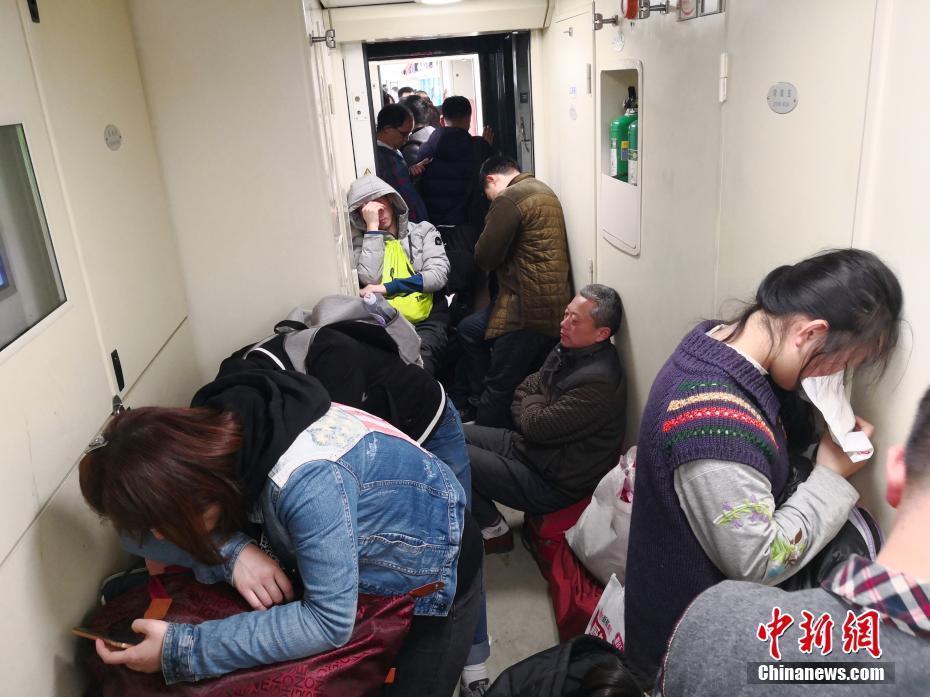 京深Z107次列车旅客平稳返程
