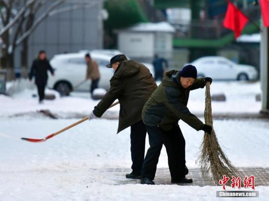 江汉江淮江南等地有中到大雨 东北地区有明显降雪