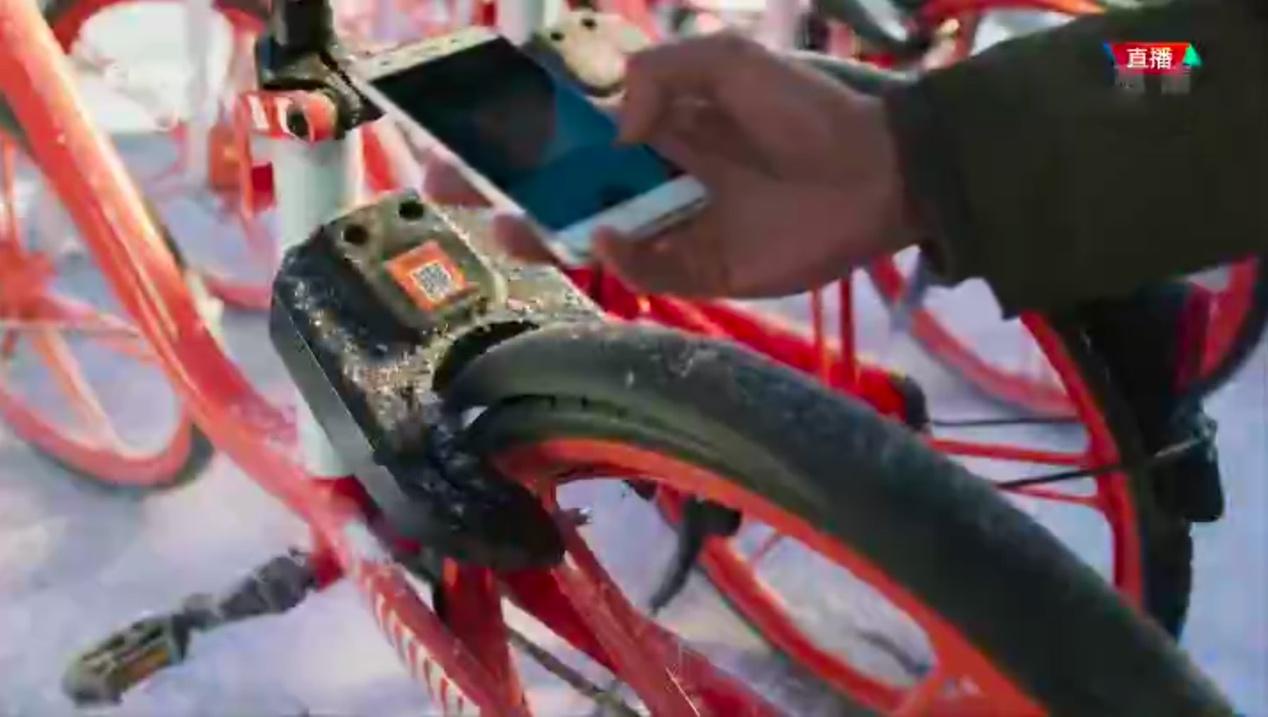 """科技范创新范!摩拜单车亮相""""北京8分钟"""""""