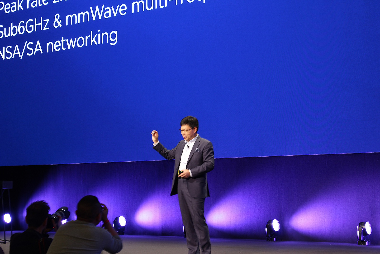 5G来了!华为发布首款3GPP标准5G商用芯片和终端